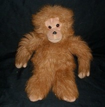 "11"" Vintage 1994 Ty Tango Brown Tan Monkey Chimp Ape Stuffed Animal Plush Toy - $18.70"