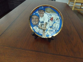 Collectors Plate Featuring  Duke Snider From The Hamilton Collection 1992 #1591A - $30.00