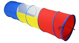 Zooawa 6 Feet Play Tunnel, Pop Up Discovery Multi-Color Tube Indoor & Ou... - $30.94