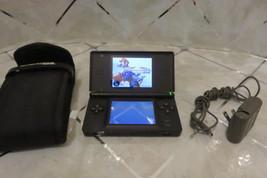 Nintendo DS Lite Cobalt Blue w/Stylus, Charger, Padded Case & MARIOKART ... - $68.59