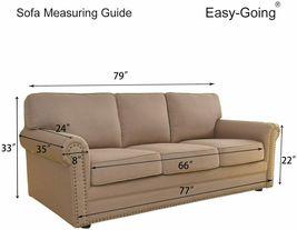 Easy-Going Stretch Sofa Slipcover 1-Piece image 3