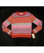 Rewind Knit Sweater Multi Pattern Striped Blocked Juniors Size Large L - $18.51