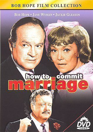 How to Commit Marriage ~ BOB HOME ~ JACKIE GLEASON ~ LIKE NEW - FREE SHIPPING ~