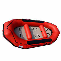 BRIS 13ft Inflatable River Raft 6 Person White Water Rescue Raft FloatingTubes image 8