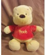 DISNEY Soft WINNIE THE POOH BEAR Plush RATTLE CRINKLE stuffed animal toy... - $8.59