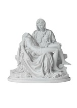 "10.5"" La Pieta Jesus Mary Michelangelo Catholic Religious Statue Made in... - $89.99"