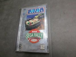 Sega Rally Championship (Sega Saturn, 1995) - $33.99