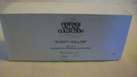 Department 56 Sleepy Hollow Set of 3 Porcelain Figurines #5956-0 - $25.99
