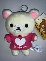 "San-X Authentic Licensed Rilakkuma Korilakkuma Plush 6"" in Pink Shirt Ke... - $11.99"