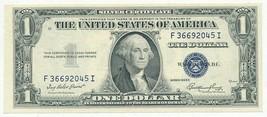 1935 E $1 ONE DOLLAR SILVER CERTIFICATE-VERY CRISP! UNCIRCULATED NOTE-FR... - $16.95