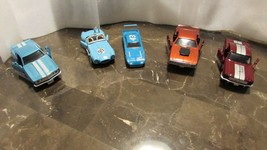 Speedy Diecast Replicas Set of 5 Power Cars 1967-1978 By New Ray