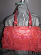 Rebecca Minkoff Designer Coral Leather Satchel Shoulder Bag Handbag - $113.84