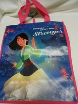 New Disney Princess Mulan reusable Tote Shopping Bag Courage Makes You S... - $8.90