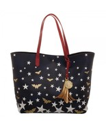 DC Comics Wonder Woman Logo Stars Oversized Tote Bag Purse - $54.95