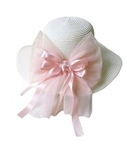 Child Children Folding Beach Hat UV Girls Summer Sunscreen Large Brimmed Hat