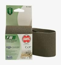 "Shopsmith P80 18"" x 3"" Ceramic SANDING BELT 80 Grit Medium 1 pc. Abrasive 12232 - $10.59"
