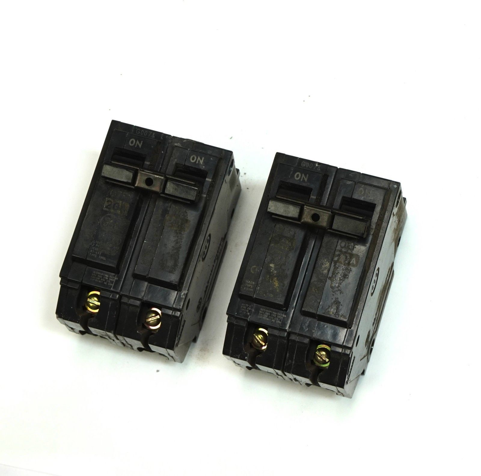Ge Circuit Breaker 120 240 Volt 60 Amp 3 Pole Thqb Type
