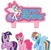 Party Time My Little Pony Friendship Molded Mini Character Birthday Can... - $16.14