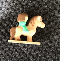 Vintage Polly Pocket 1989 Jewel Case Replacement Tan Brown Pony Horse w/... - $12.99