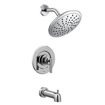 Moen T3003EP Gibson Posi-Temp Pressure Balancing Modern Tub and Shower Trim with - $117.99