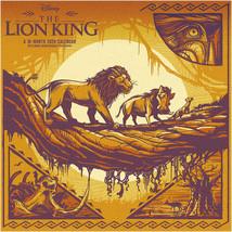 Walt Disney The Lion King Movie 16 Month 2020 Wall Calendar w/Wallpaper SEALED - $14.50
