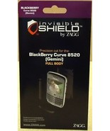Zagg Invisible Shield Blackberry Curve 8520 Gemini Full - $9.59