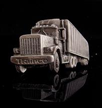 Vintage Truck buckle / 1980 trainco / graduate gift / Trucker belt buckl... - $75.00
