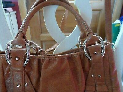 Medium brown Jessica Simpson large hobo shoulder bag