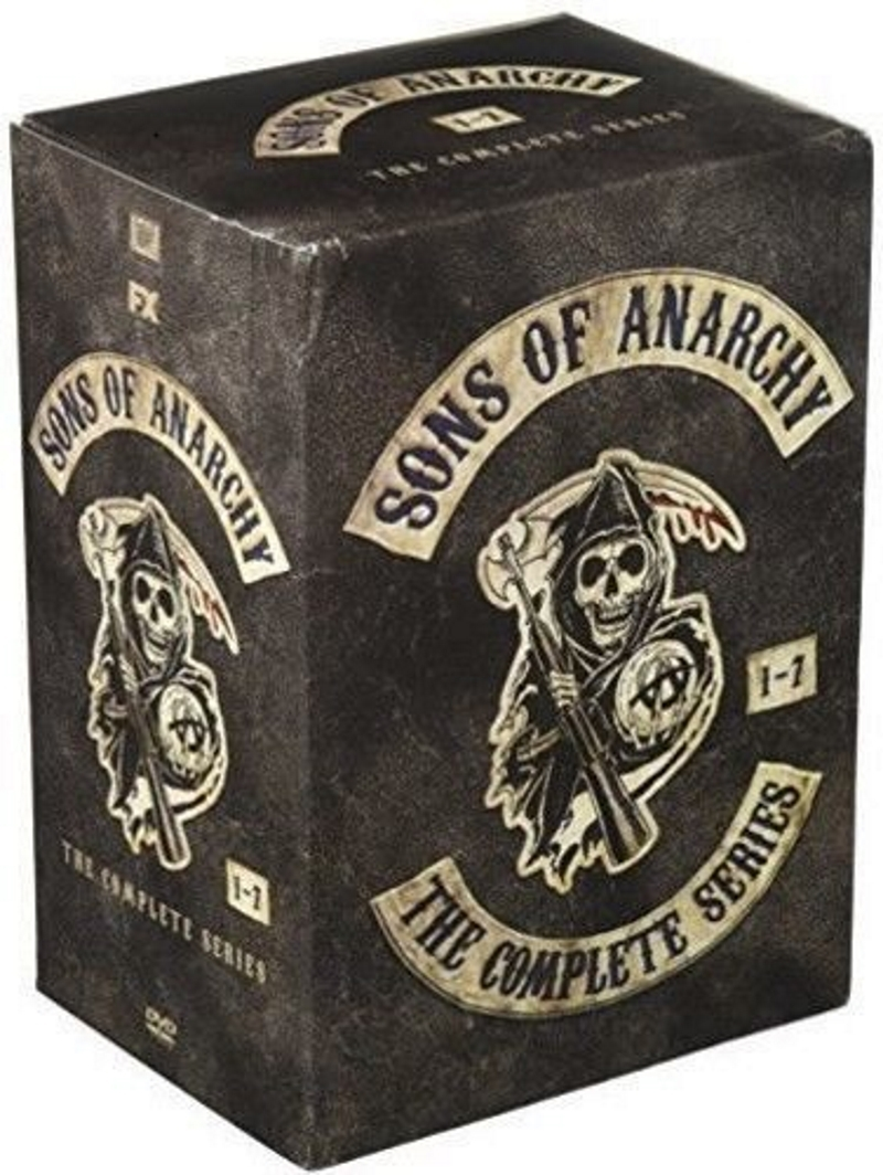 Sons of anarchy the complete series dvd seasons 1 7  30 dvd set  2015