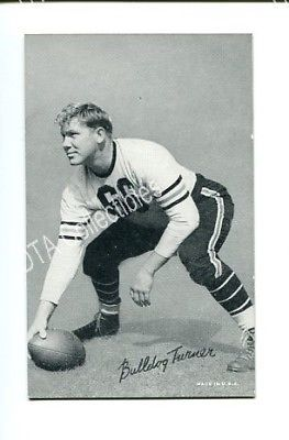 Primary image for FOOTBALL EXHIBIT CARD-BULLDOG TURNER FN