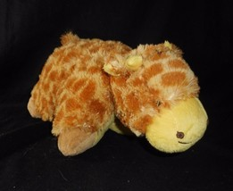 "12"" Pillow Pets 2010 Pee Wees Baby Giraffe Stuffed Animal Plush Soft Toy April - $23.38"