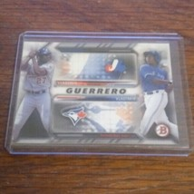 2016-GUERRERO JR-FATHER &SON BOWMAN FAMILY TREE - $15.85