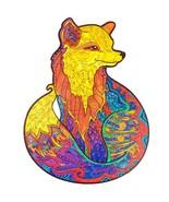 "Unidragon Wooden Jigsaw Puzzles ""Alluring Fox"" Laser Cut Jigsaw Puzzle - M[M ... - $59.99"