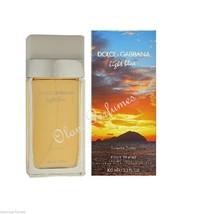 Dolce & Gabbana Light Blue Sunset in Salina For Women Edt Spray 3.4oz 100ml - $68.59