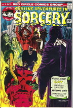 Chilling Adventures In Sorcery Comic Book #3, Archie 1973 VERY FINE- - $9.74