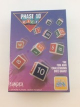 Vintage 1993 Phase 10 Dice Fundex Games #2720 - New in box sealed - $27.71
