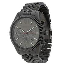Michael Kors MK8320 Black Large Lexington Men's Watch - $274.06