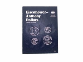 Whitman Coin Folder/Album, Eisenhower/Anthony Dollars, 1971-1999  - $5.89