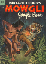 Rudyard Kipling's Mowgli Jungle Book - Dell Four Color 487 - 1953 - Good Copy - $7.99