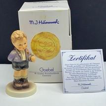 Goebel MJ Hummel club figurine germany box coa 1064 no thank you hum 535... - $54.45