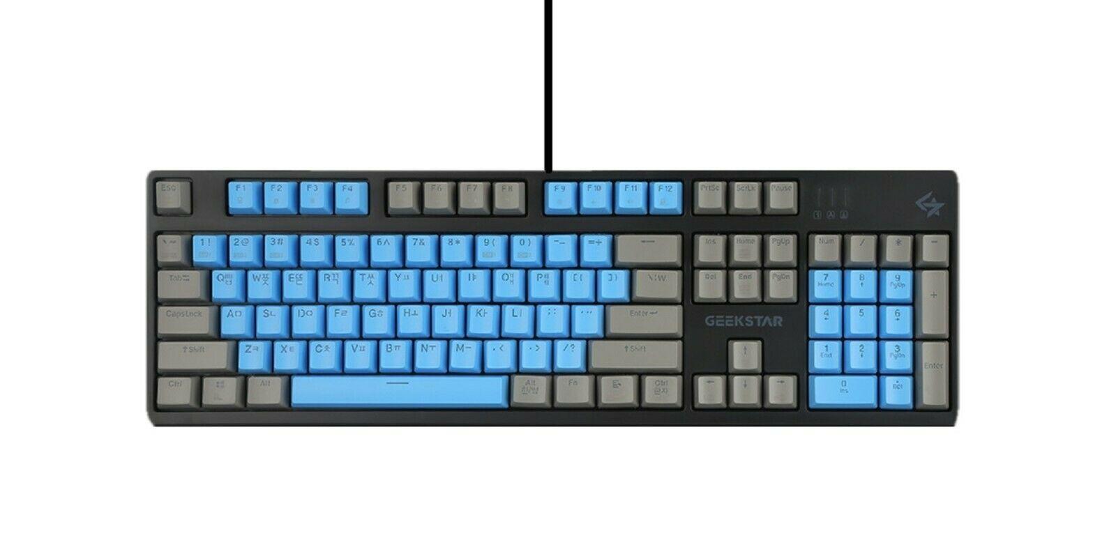 Geekstar GK710-2 Mechanical Gaming Keyboard English Korean Kailh Optical Switch