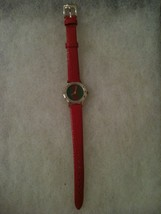 Watch With Speidel Water Resistant Lizard Grain Watch Band - $9.89