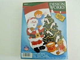 Christmas Felt Stocking Kit - Design Works 5057  Reach for the Star   New - $13.86
