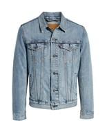 Levi's Men's Cotton Button Up Denim Jeans Trucker Jacket Light Blue 7233... - $69.99
