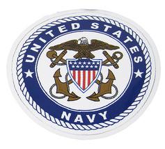 U.S. USN Navy Emblem Crest Military Mini Magnet (Car / Fridge / Other) - $18.00