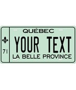 Quebec 1971 License Plate Personalized Custom Auto Bike Motorcycle Moped... - $10.99+