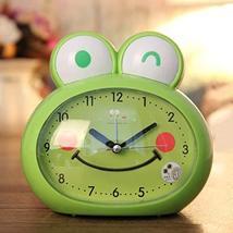 Kid Desk Clock Light Night Mute Cute Cartoon Animal Style Table Clock Cu... - $17.50
