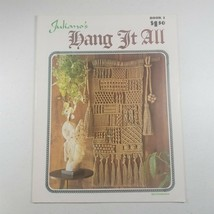 Juliano's Hang It All Book 2 Macrame Patterns - $12.63
