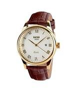 CakCity Men's Business Analogou Casual Watches Quartz Waterproof Wrist (... - $20.34