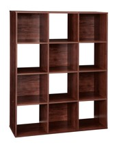 ClosetMaid 1022 Cubeicals Organizer, 12-Cube, Dark Cherry - $89.99